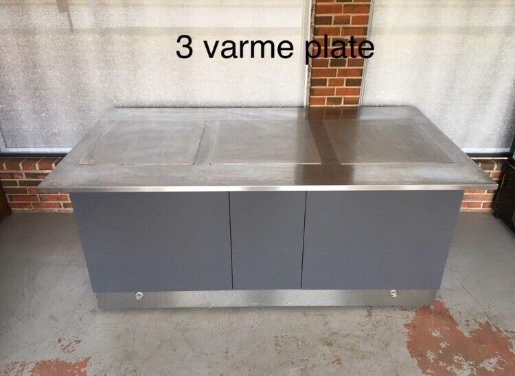 Kantinemøbler,køle og varme bord