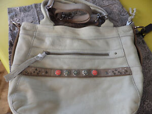 52a4a15f29557 Image is loading Noosa-Amsterdam-leather-Classic-shopper-bag-light-grey-