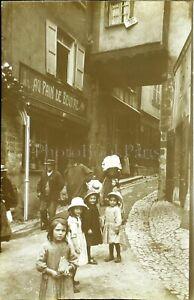 FRANCE-Normandie-Le-Havre-Honfleur-c1900-Photo-Stereo-Vintage-Plaque-Verre-VR7L5