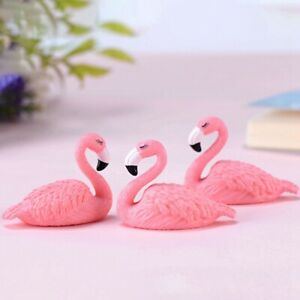 2Pcs-Set-Micro-Flamingo-Figurine-Animals-Ornaments-for-DIY-Fairy-Plsei-S5F6