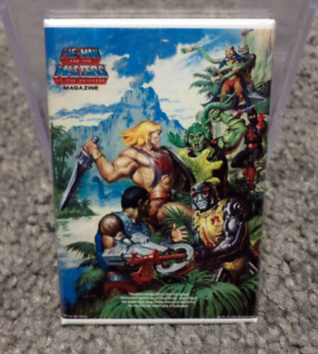 "He-Man Masters of the Universe MOTU 2/"" x 3/"" Refrigerator or Locker MAGNET Vers 3"