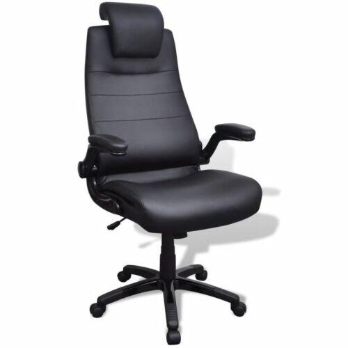 Kunstleder Bürostuhl Drehstuhl Stuhl Bürosessel Chefsessel Schreibtischstuhl