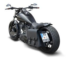 Buffalo Bag Satteltasche 28L Harley Softail Fat Boy Motorradtasche 1992-2017