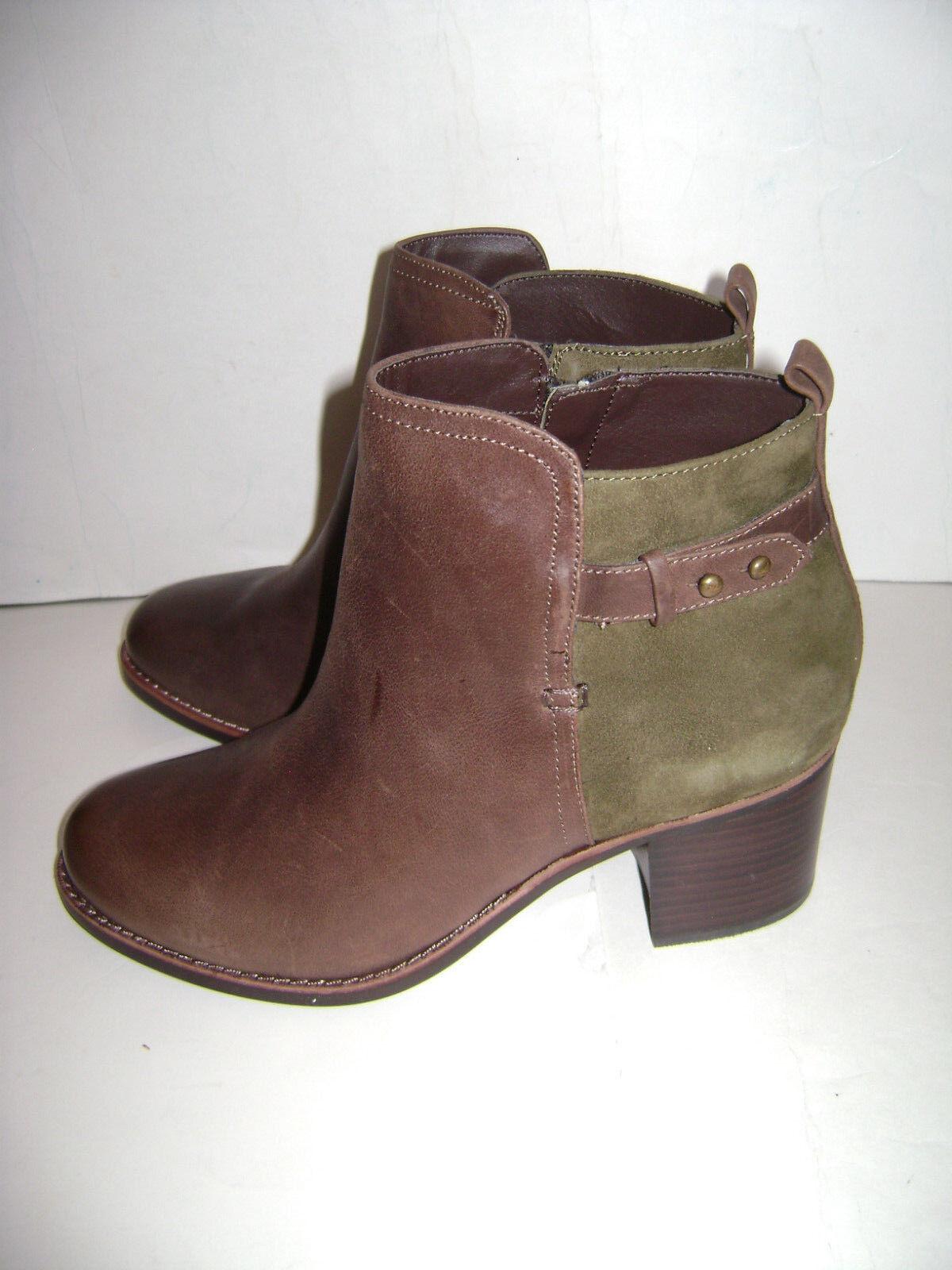 NIB SPERRY TOP Damens SIDER AMBROSE ANKLE Stiefel Damens TOP Schuhe Größe 8.5 M BROWN OLIVE 298be4