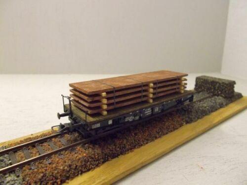 Ladegut Stahlplatten H0 Ein Stück für eine Wagenladung Absolut neu