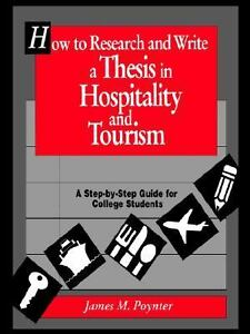 Dissertation proposal in hospitality