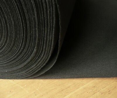 Black Medium weight fusible iron on interfacing sold by the metre