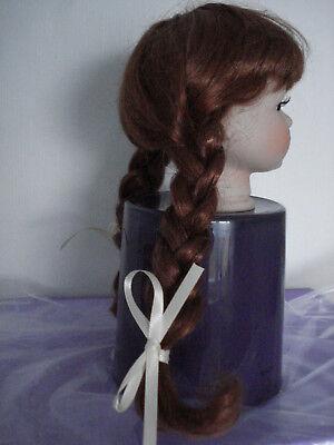 Aggressivo Parrucca Per Bambole, Rosse-marroni, Ku 25cm - 26cm-mostra Il Titolo Originale