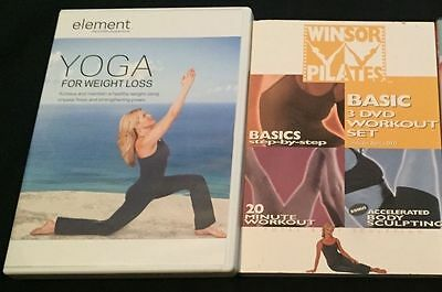 Lot of Workout DVDs- Pilates, Yoga