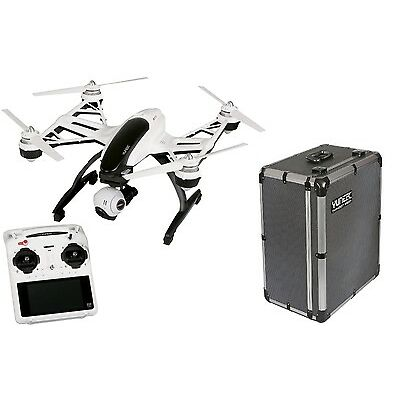 Yuneec Typhoon Q500+ +Alukoffer +2 Akku CGO2 RTF Multikopter Quadcopter Drohne