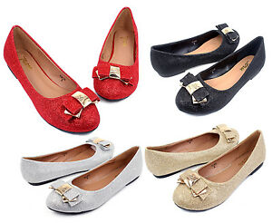 BELINDA-New-Blink-Synthetic-Fashion-Bow-Slip-On-Casual-Women-Flats-Office-Shoes