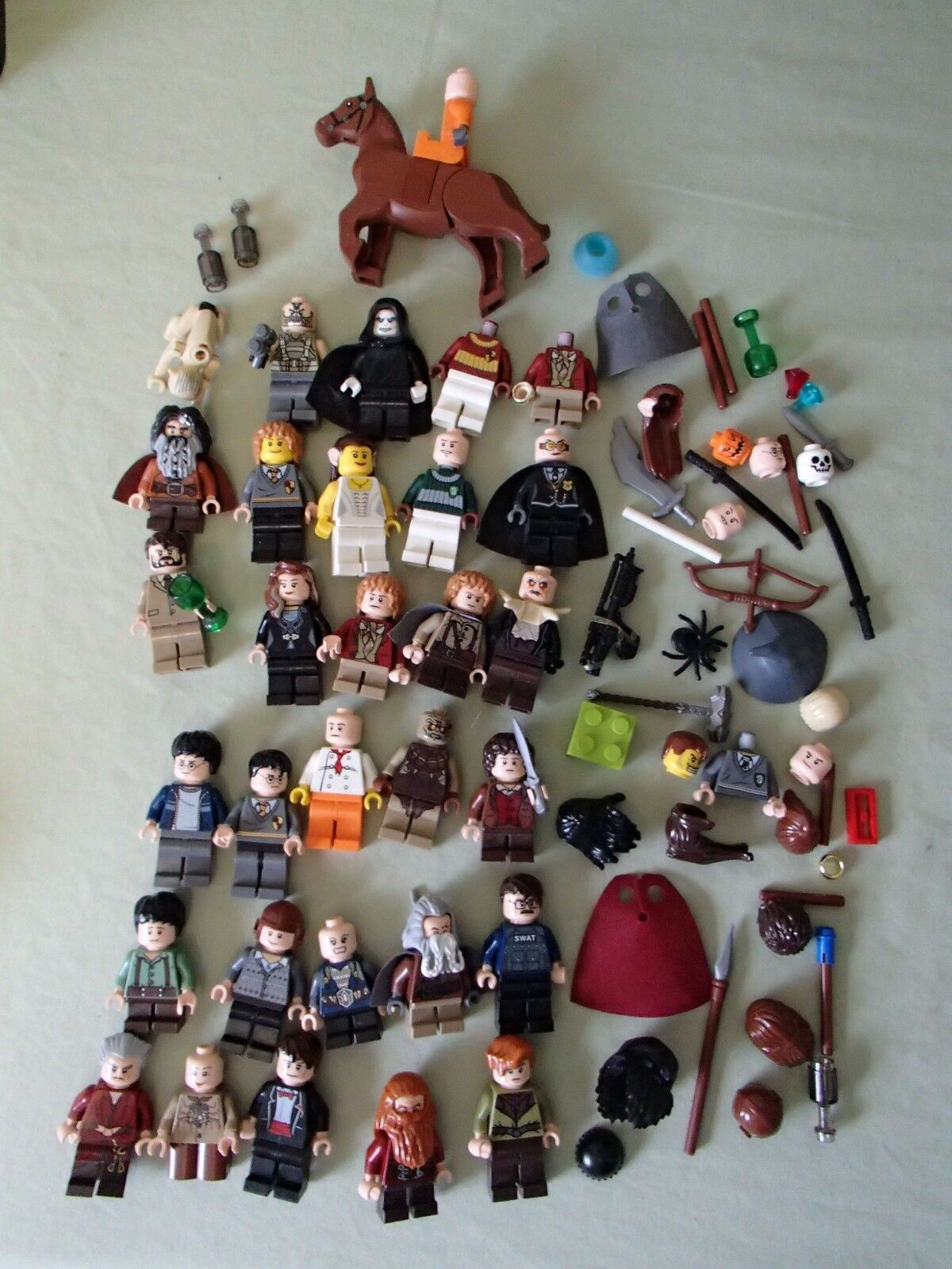 Lego Harry Potter, Star Wars Minifigures Lot 30+ extra parts
