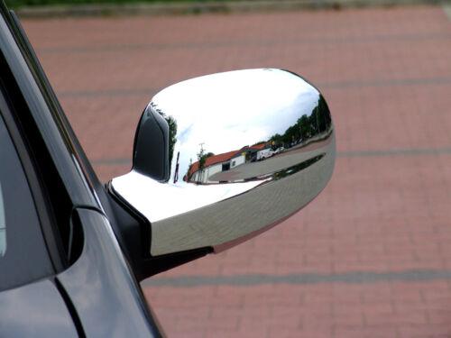 Zubehör für Kia Carnival III  2006-2012 Chrom Spiegelkappen Spiegelblenden