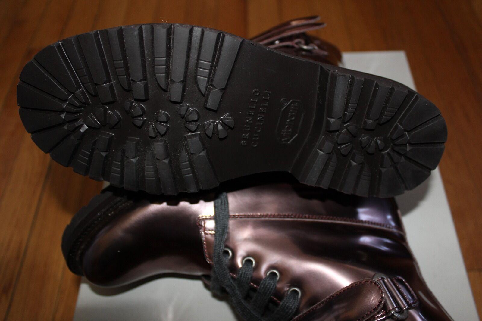 AUTHENTIC  1630 BRUNELLO CUCINELLI METALLIC COPPER Stiefel Stiefel COPPER SZ 37 EU/ 7 US ded607