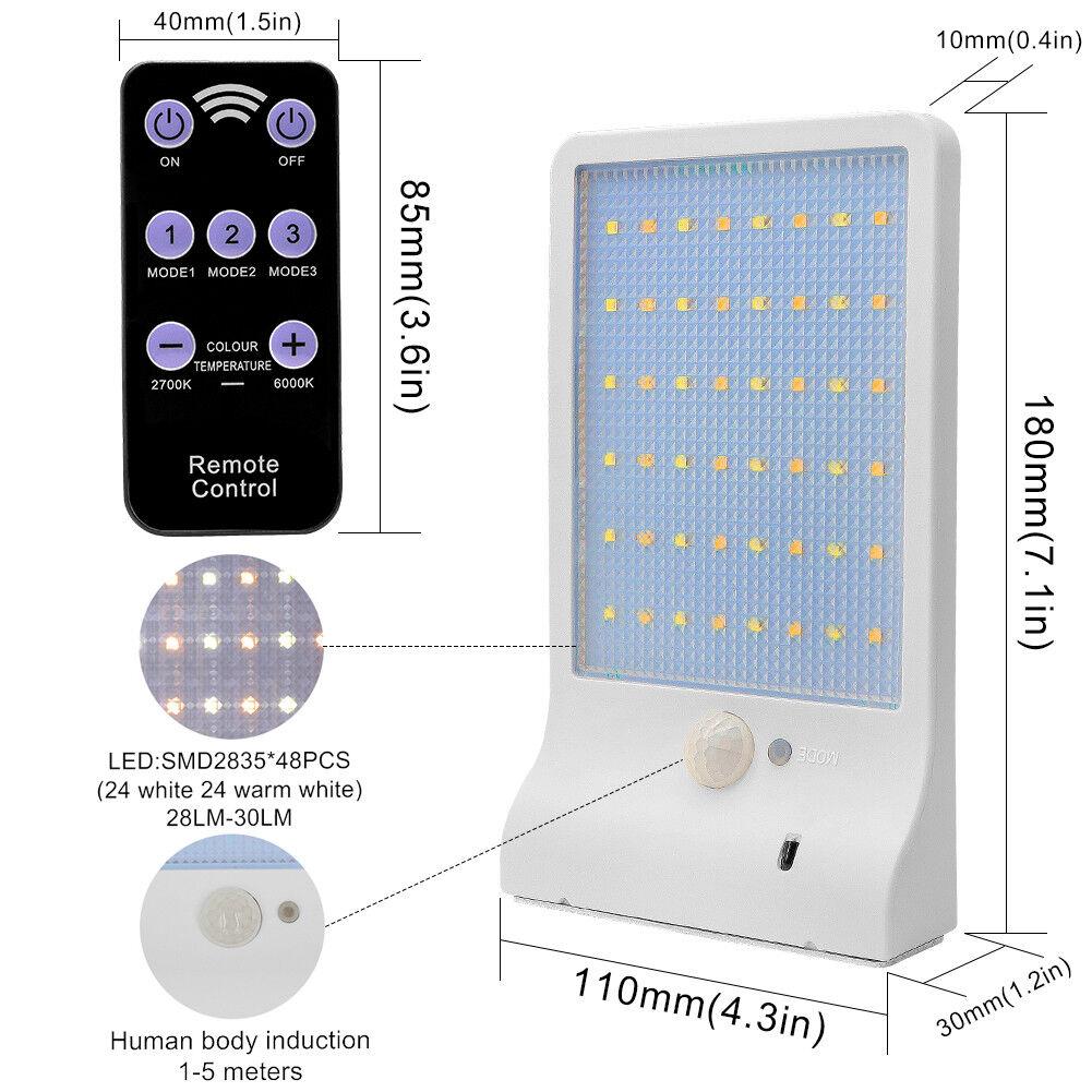 Solarleuchte LED Solar Lampe Lampe Lampe mit Bewegungsmelder Wandleuchte Gartenlampe Fluter | Bekannt für seine hervorragende Qualität  | Angenehmes Gefühl  | New Product 2019  53828f