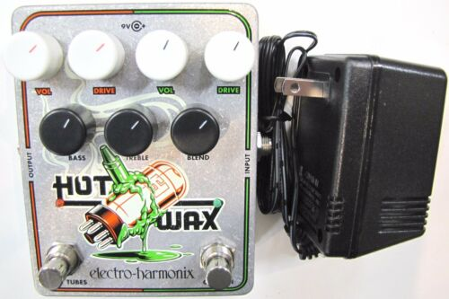 Used Electro-Harmonix EHX Hot Wax Hot Tubes Crayon Dual Overdrive Effect Pedal