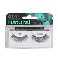2 Pairs x Ardell Natural Lashes #105 False Eyelashes Fake Lash Eyelash Black