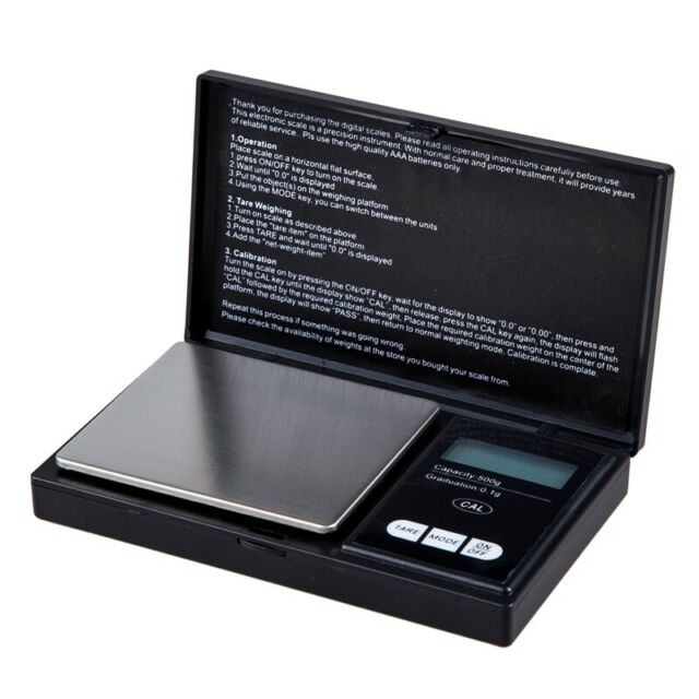 Digital Pocket Scale 500 Gram X 0.1 gram for lab chemicals, jewelry, diamon Q8L8
