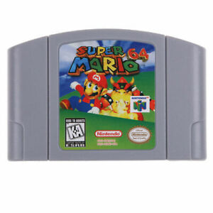 Super-Mario-64-For-Nintendo-64-Video-Games-Cartridges-N64-Console-US-Version