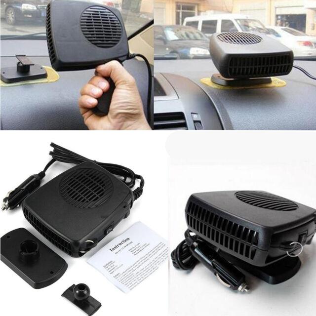 2in1 Car Portable Ceramic Heater Cooler Dryer Blower Fan Defroster Demister 150W