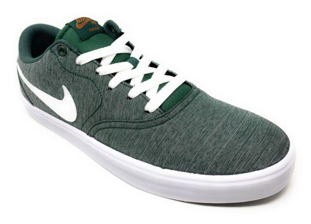 Size 8 Nike Sb Check Solar Canvas Premium Midnight Green For Sale Online Ebay