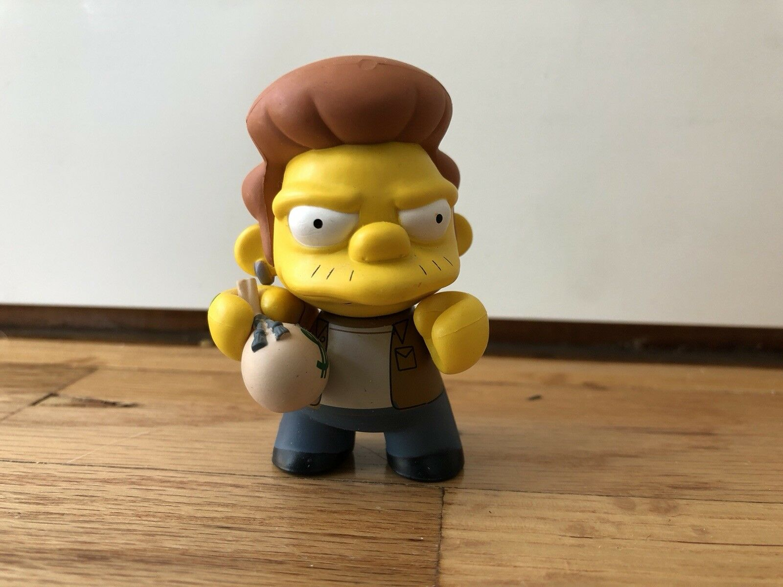 Kidrobot The Simpsons series 1 SNAKE 1 24 2008 2008 2008 3  Vinyl robber convict 07a1f2