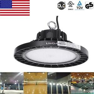 New bright 200w led high bay light lamp pendant 24000lm industrial image is loading new bright 200w led high bay light lamp aloadofball Image collections