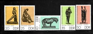 GERMANY-DDR-SC-1735-1739-MINT-NO-HINGE