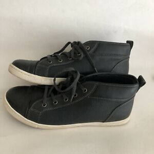 aldo men's 11 shoes boot high top chukka casual leather