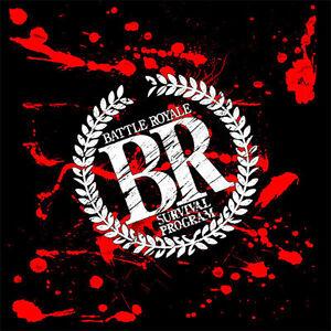 Battle Royale Logo - Adult sizes S thru 5X A31 Custom Movie T-Shirt -