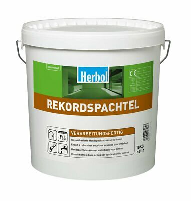 Weiß 2019 Offiziell Radient Herbol Rekordspachtel 18 Kg