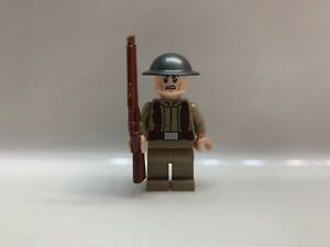 Details about LEGO WW2 British Soldier (Dunkirk) Made with LEGO and  Brickarms parts