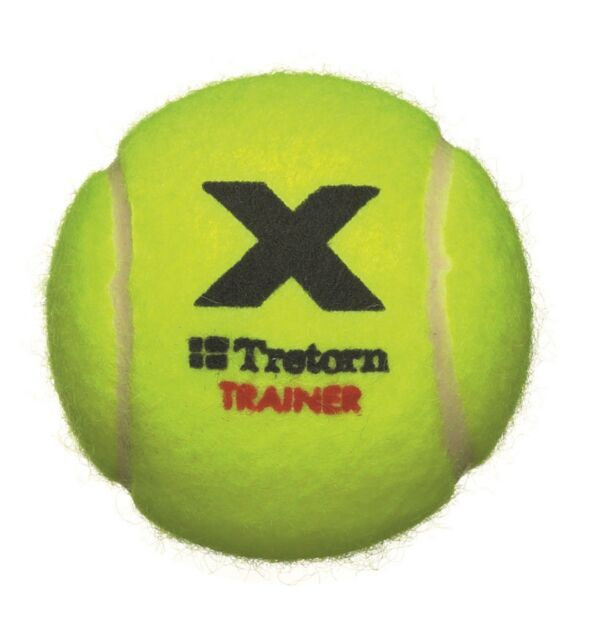 Tretorn MICRO X Trainer - Yellow  Felt - Non Softening Tennis Balls 1 x 72 balls