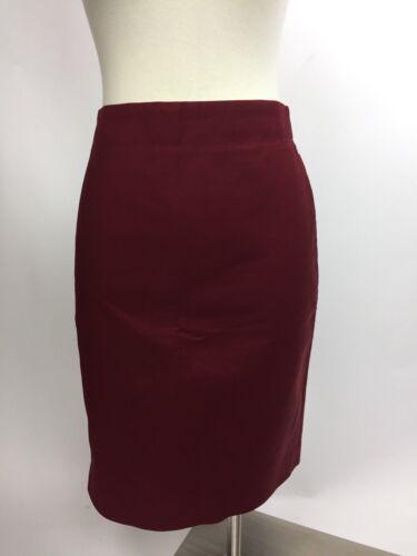 Crew Red Cranberry J 6 2 No Pencil Deep Skirt Lovely B0fdqRZ