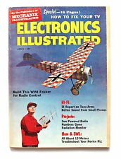 Electronics Illustrated April 1960 How to Fix Your TV WW1 Fokker Radio Control