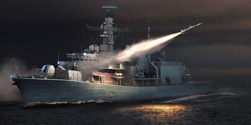Trumpeter 1 350 HMS Monmouth F-235 Type 23 Frigate