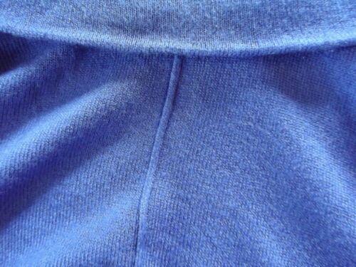 ROZ /& ALI Sizes PM ROYAL BLUE COWL NECK SWEATER long tunic mp