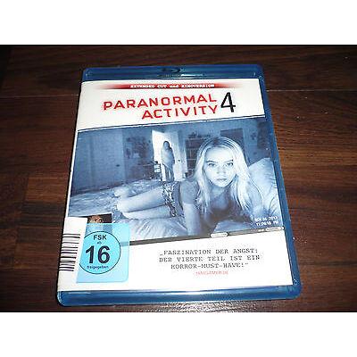 Blu-Ray  PARANORMAL ACTIVTY 4 Extended Cut und Kinoversion deutsch