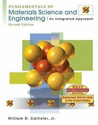 Wie Fundamentals of Materials Science and Engineer Ing: an Integrated -ExLibrary