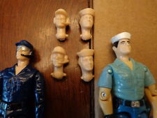 GI Joe o-ring USS Flagg lee helmsman and sailor custom cast heads