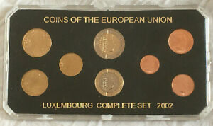 Luxembourg-complete-euro-coins-set-2002