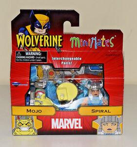 Mojo-amp-Spiral-Minimates-Marvel-Wolverine-Series-72-2pack-Diamond-Select-NEW