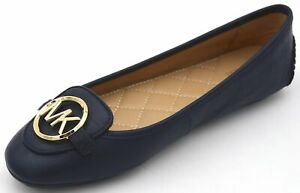 MICHAEL-KORS-WOMAN-BALLET-FLATS-SHOES-CASUAL-FREE-TIME-LEATHER-CODE-LILLIE-MOC