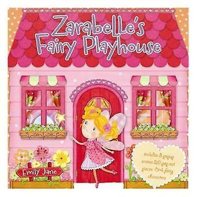 Zarabelle's Fairy Playhouse (Carousel Book) by Jane Emily, Hardcover Used Book,