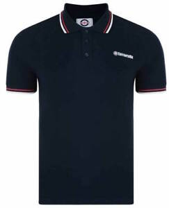 Lambretta-Polo-Shirt-Navy-Blue-Red-White-Twin-Tipped-LG1600-Sale-Logo-Piquet-17