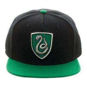 Baseball Cap - Harry Potter Slytherin Crest Snapback New