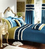 Luxury Valencia Duvet Cover & Pillowcases, Bedding Set, Teal