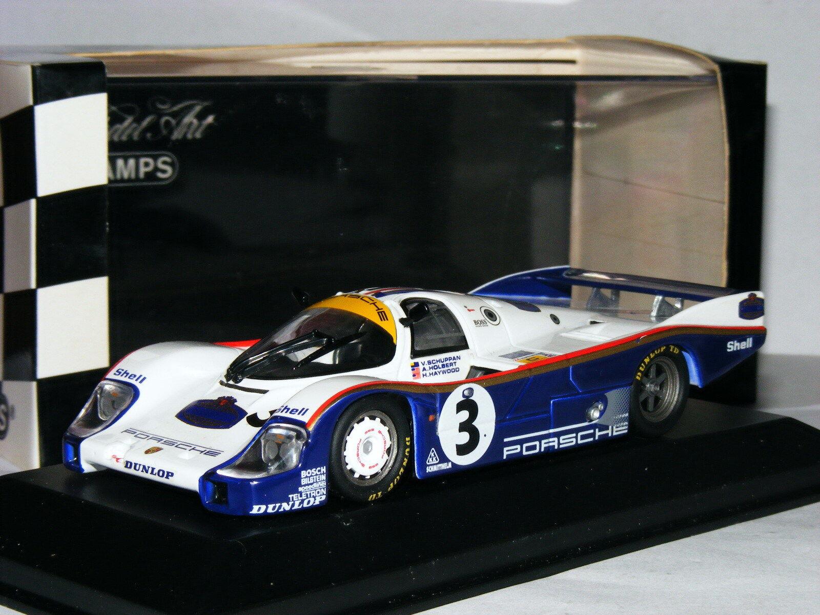 Minichamps Porsche 956 Winner 1983 le mans avec TOBACCO DECALS 1 43