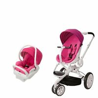 Quinny Moodd Travel System In Pink Passion With Stroller & Mico Max 30 Car Seat