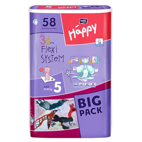 Happy Bella Baby Windeln Gr 5  Junior 12-25 kg  58 oder 232 Stück
